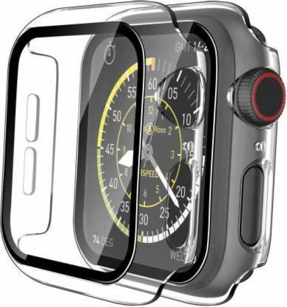 IM Retail Edge To Edge Tempered Glass for Apple watch Series 4 (44MM) , Apple watch Series 5 (44MM) , Apple watch Series 6 (44MM) , Apple watch Series SE (44MM).