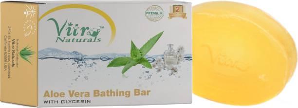 Vitro Naturals Combo Of 5 Aloe Vera Bathing Bar