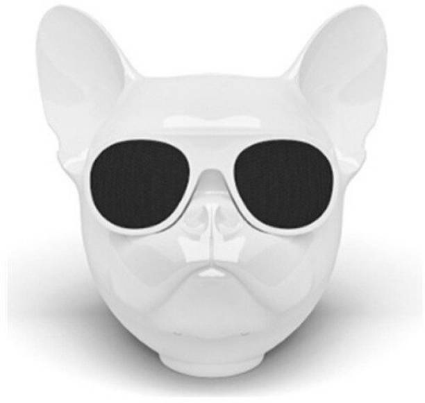 Creative Dizayn DOG BLUETOOTH SPEAKER-WHITE 10 W Bluetooth Speaker