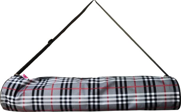 PANCHTATAVA check grey long lasting Trendy yoga bag with adjustable strap