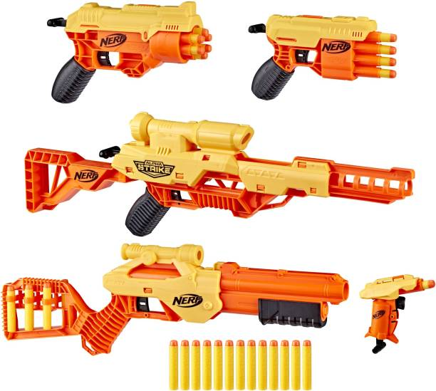Nerf Alpha Strike Ultimate Mission Pack, 5 Blasters and 30 Official Elite Darts, For Kids, Teens, Adults Guns & Darts