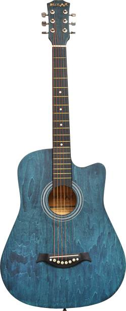 Belear I-280 Blue Spruce Cutaway Acoustic Guitar with Truss Rod Linden Wood, Spruce Acoustic Guitar