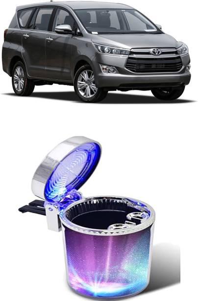 Etradezone Silver plastic car multicolour ash tray Multicolor Plastic Ashtray