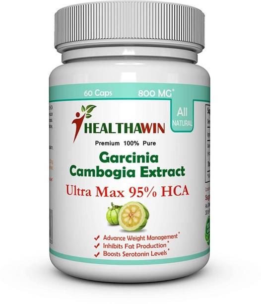 Healthawin ULTRA MAX - Pure Garcinia Cambogia Extract 95 HCA - 800 MG - 60 Capsules