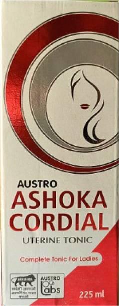 ASHOKA CORDIAL 225 ml Uterine Tonic For Leucorrhoea and Menstrual Cycle (Pack of 1)