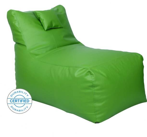 Flipkart Perfect Homes Studio Jumbo Chair Bean Bag Cover  (Without Beans)