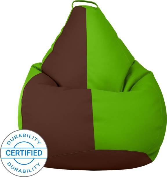 Flipkart Perfect Homes Studio XXXL Tear Drop Bean Bag Cover  (Without Beans)