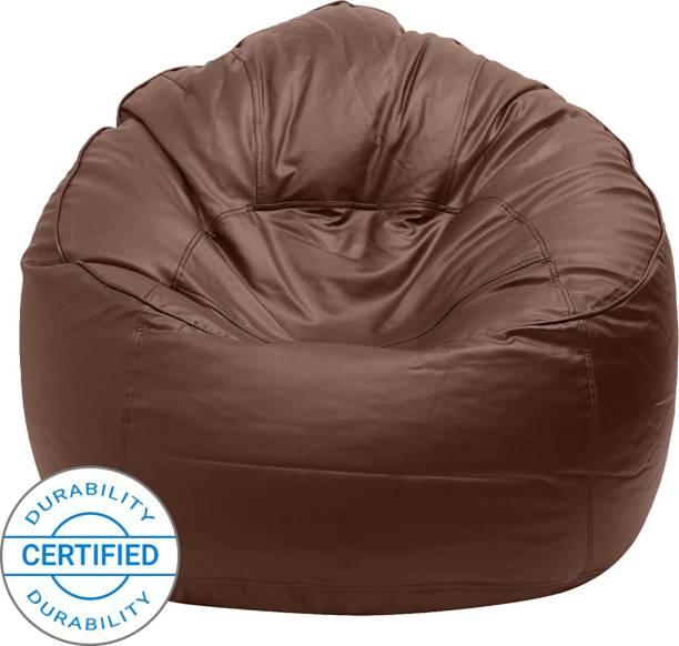 Flipkart Perfect Homes Studio XXXL Chair Bean Bag Cover  (Without Beans)
