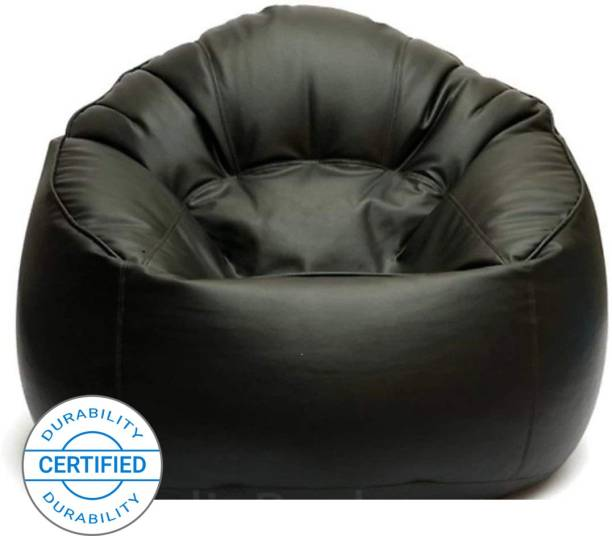 Flipkart Perfect Homes Studio XXXL Chair Bean Bag Cover  (Without Beans)
