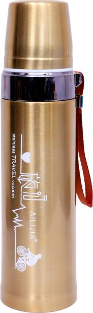 THE PRINT HUB 800 ML THERMO-STEEL FLASK (12 HRS HOT & COLD) FLIP LID 800 ml Flask 800 ml Flask