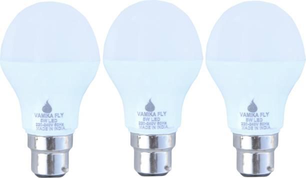 VAMIKA FLY 5 W Round B22 LED Bulb