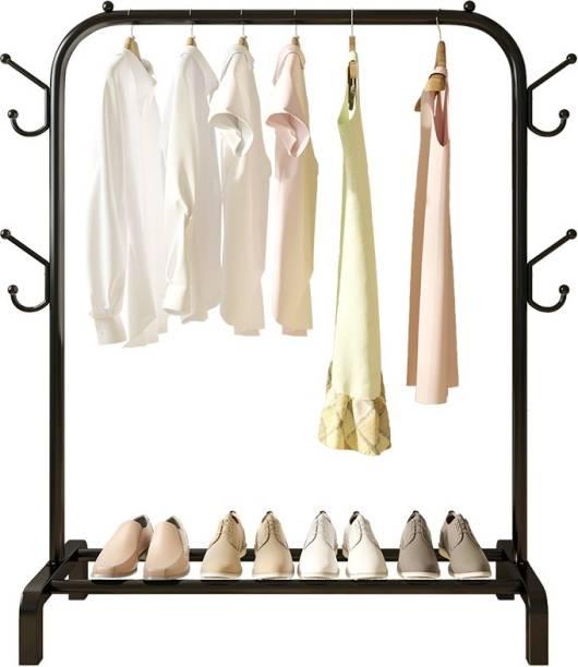 Corslet Coat Stand Floor Hanger Floor Standing Household Bedroom Simple Modern Clothes Hanger Coat Hanger Room Hanging Bag Hanging Clothes Metal Coat and Umbrella Stand