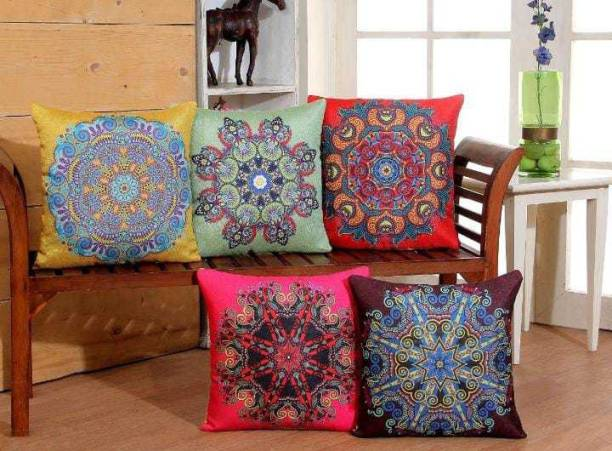 Enterprises Muskan Printed Cushions & Pillows Cover