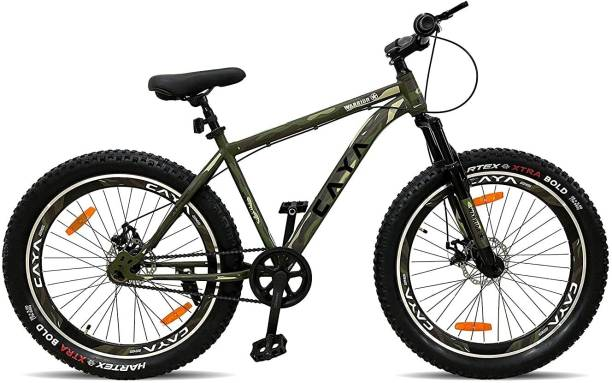 CAYA WARRIOR 26 ARMY GREEN 27.5 T Fat Tyre Cycle