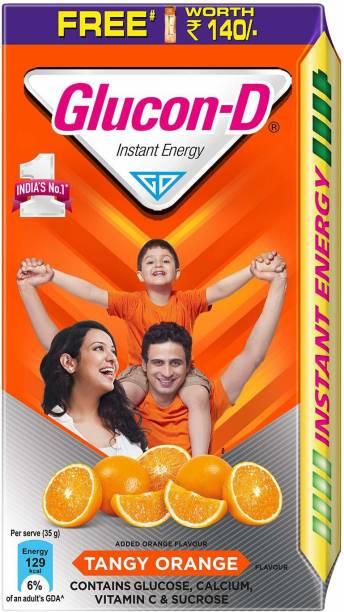 GLUCON-D INSTANT ENERGY DRINK TANGY ORANGE 1KG Energy Drink