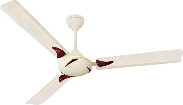 "LONGWAY CRETA IVORY 48"" 1200 mm Energy Saving 3 Blade Ceiling Fan"