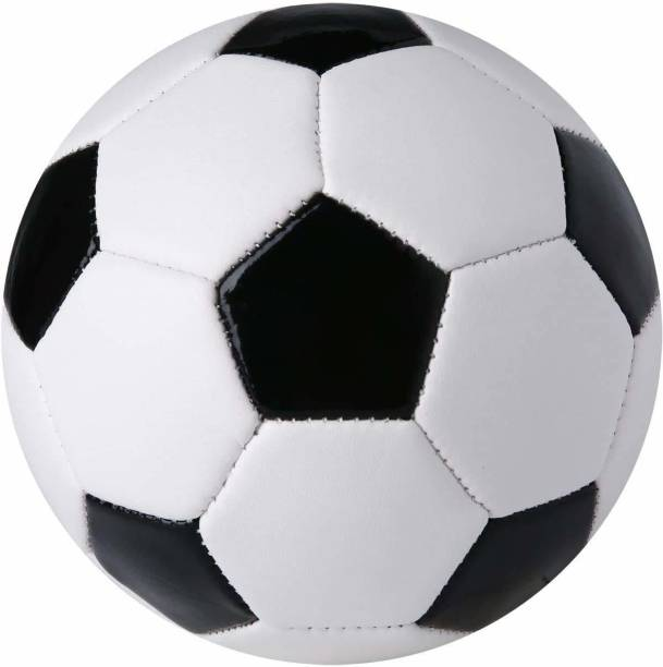 PTS Rubber Football with Inflating Needle, (Size 5) Football - Size: 5