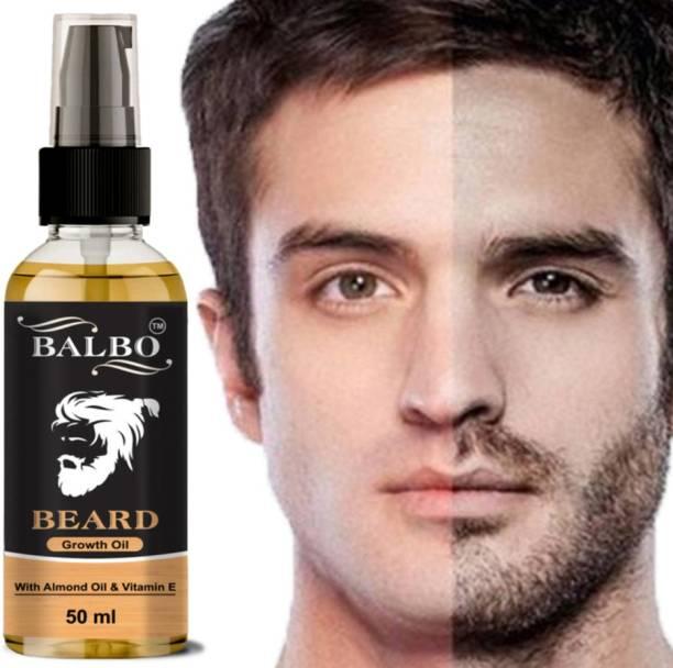 BALBO Organics Premium Quility Natural Beard Growth Oil for Strong and Healthy Beard Growth  Hair Oil