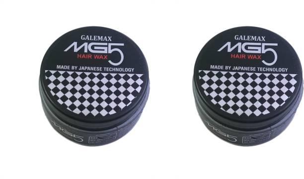 GALEMAX MG5 Hair Wax For Hair Styling Japanese Technology (200 Gram) Pack 2 200 gm Hair Gel