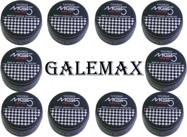 GALEMAX MG5 Hair Wax For Hair Styling Japanese Technology (1000 Gram) Pack 10 1000 gm Hair Gel