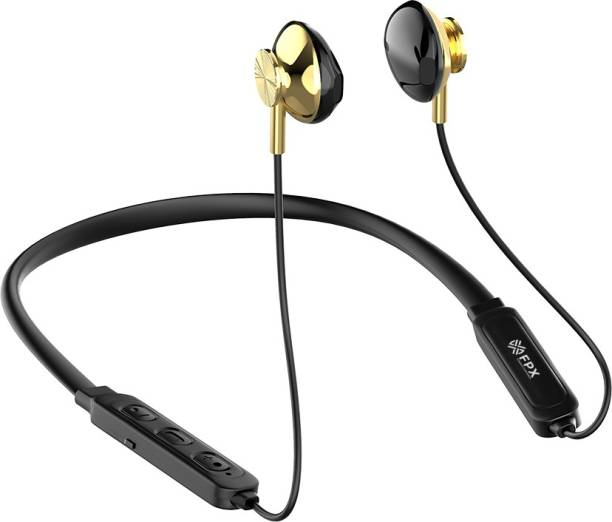 FPX Stella In ear neckband, 10Hrs Playtime Wireless, Sweat resistant Bluetooth Headset