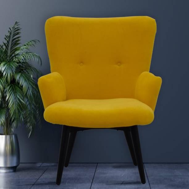 TimberTaste TT-DITYA-LC-YL Leather Living Room Chair