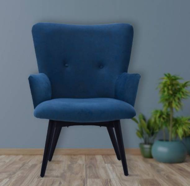 TimberTaste TT-DITYA-LC-BL Leather Living Room Chair