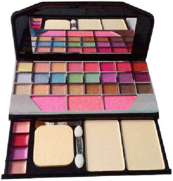 Dhaniji All in One Best Makeup kit 6155 (Eyeshadow,Blusher,Compact,Lip Gloss) 27 g (multicolour)