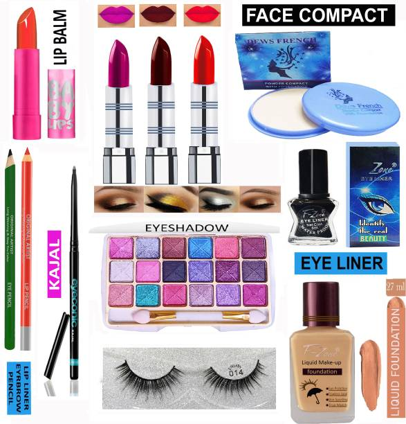 F-Zone All In One Makeup Kit For Girls And Women VKS31