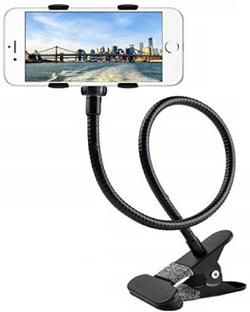 AZACUS Metal- Lazy Cell Phone Holder, Mobile Phone Stand, Lazy Bracket, Flexible Long Arms Clip Mount Mobile Holder