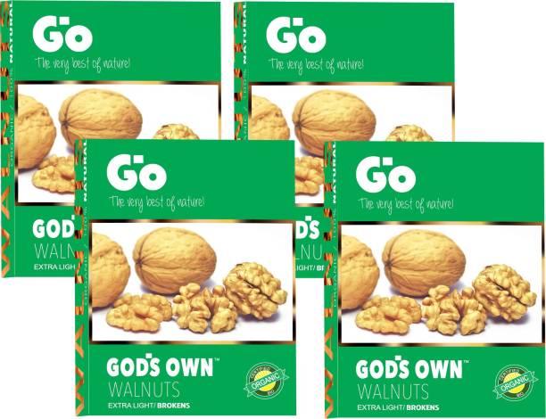 Go Organic Extra Light Broken walnuts kernels Walnuts