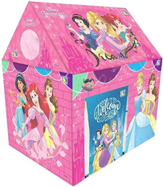 DAIWIK ENTERPRISE Jumbo Size Extremely Light Weight , Water Proof Kids Play Tent House for 10 Year Old Girls and Boys (Peppa Pig)