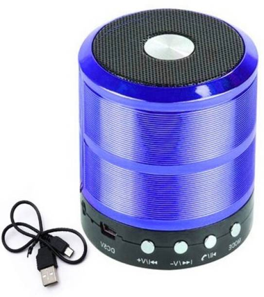 OBDIR BEST BUY Mini Bluetooth BO/AT Speaker with FM Radio, Memory Card Slot, USB Pen Drive Slot, AUX Supported Compatible for All Smartphone 5 W Bluetooth Speaker