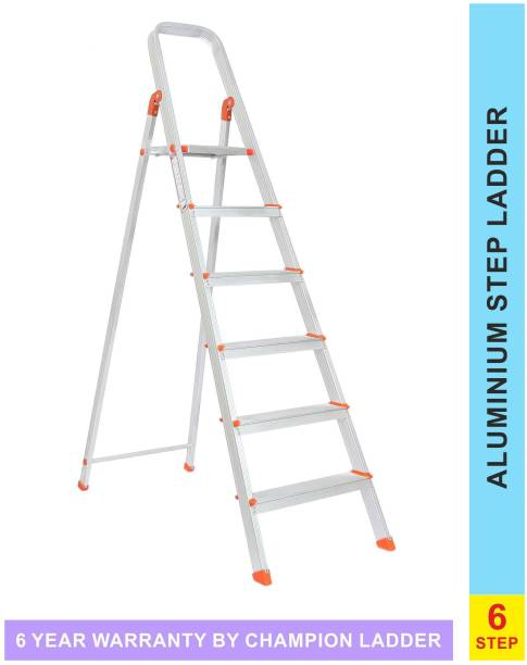 champion ladders 6 Steps Aluminium Ladder
