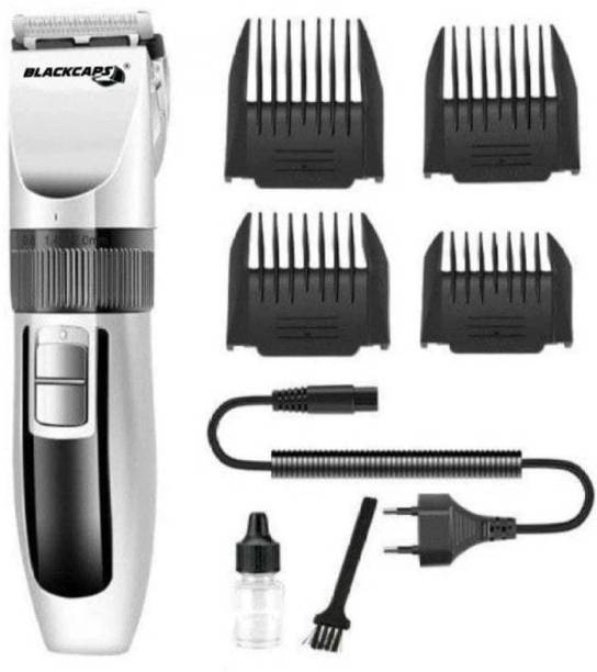 blackcaps KC-27C Rechargeable Hair Trimmer  Runtime: 60 min Trimmer for Men