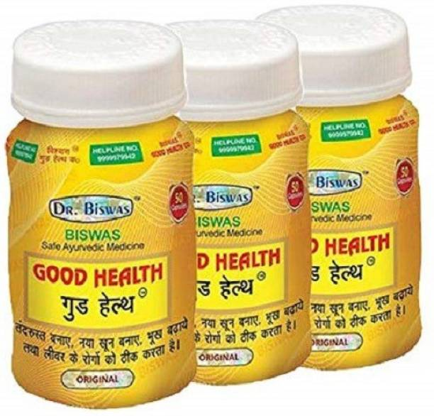 Dr. Biswas Good Health Capsule for Strong Immunity and Increasing Your Appetite (Pack of 3)