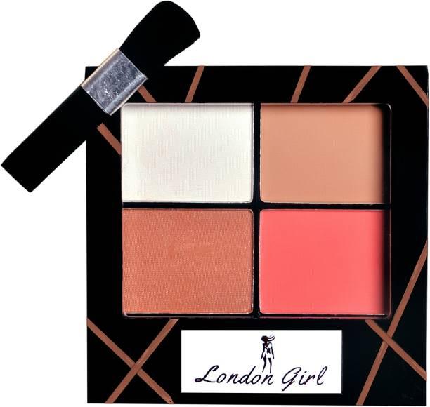 London Girl Contour,Bronzer,Blush Highlighter