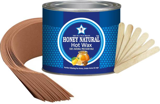 Honey Natural HAPPY FAST HAIR REMOVAL WAX ( ARMS, UNDER ARMS & LEGS ) hot WAX 600GM . Wax