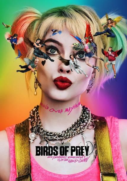 Birds of Prey (English+Hindi) 5.1 dual audio blu-ray x264 movie dvd