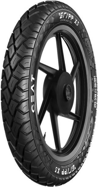 CEAT GRIPP X3 TL 55P 100/90-17 Rear Tyre