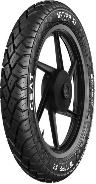 CEAT GRIPP X3 TL 54P 80/100-18 Rear Tyre