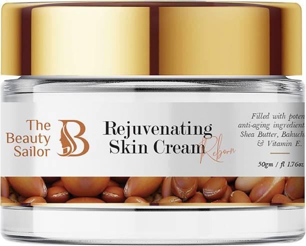 The Beauty Sailor Rejuvenating Skin Cream Helps Refine Skin, with Shea butter, Bakuchi Oil & Vitamin E