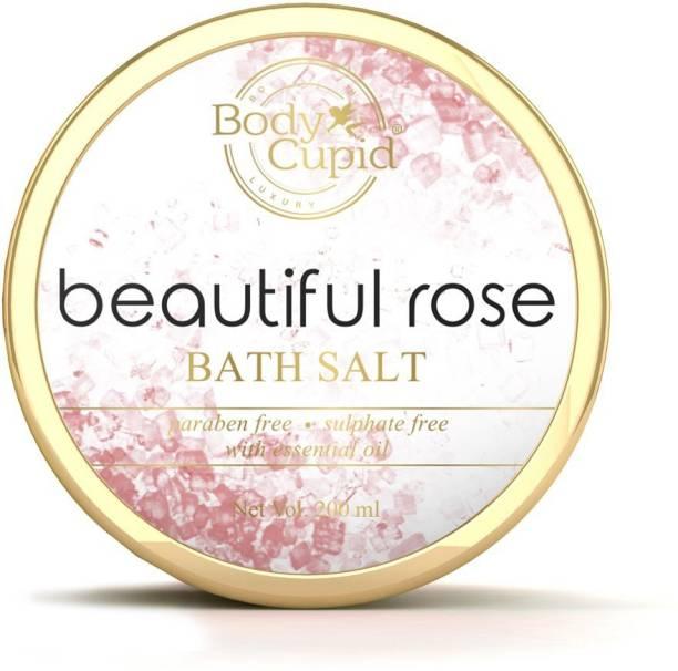 Body Cupid Beautiful Rose Bath Salt - 200 ml