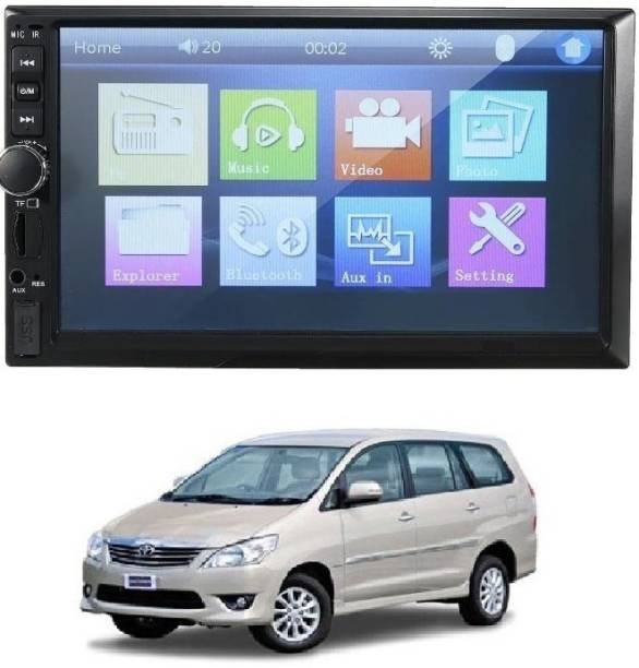 RKPSP 7Inch Double Din Screen For Innova (Universal) Car Stereo