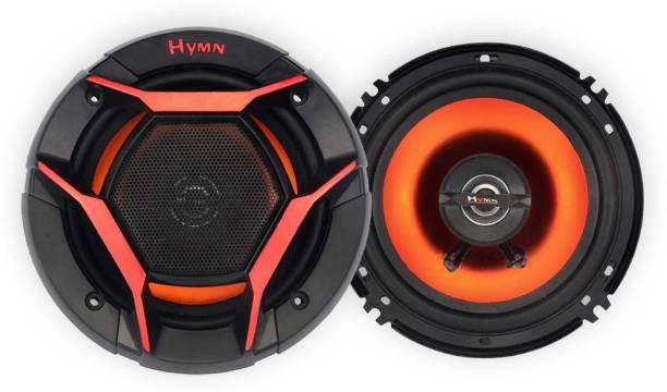 Hymn by GoMechanic Super BASS Series 6 inch 210W Dual Cone 3 Way Coaxial Car Speaker, Set of 2 Coaxial Car Speaker