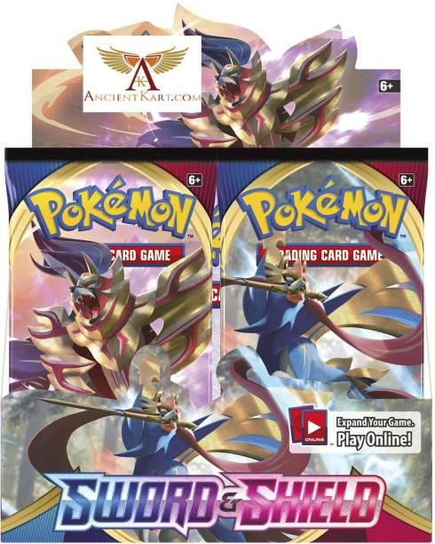 AncientKart Pokemon cards Sword Shield booster box