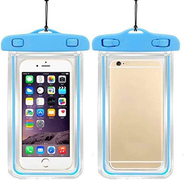 HelloX Pouch for Mobile Rain Pouch & Dust Protection Case Cover Underwater Waterproof Transparent Mobile Pouch