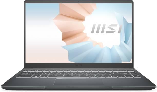MSI Modern 14 Core i5 11th Gen - (8 GB/512 GB SSD/Windows 10 Home) Modern 14 B11MO-093IN Thin and Light Laptop
