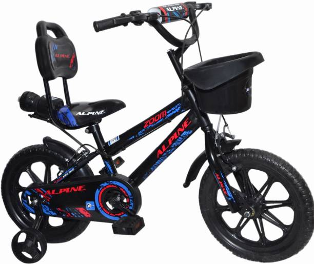 Alpine Bmx blue black zoom bmx unisex bicycle/cycle for kids 2-5 years 14T BMX Cycle 14 T BMX Cycle