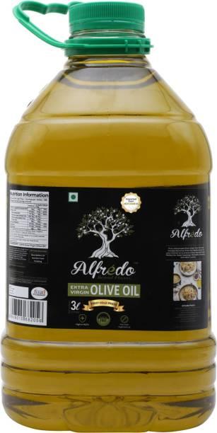 Alfredo First Cold-Pressed Extra Virgin Olive Oil, 3L PET Olive Oil PET Bottle